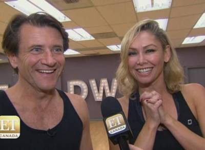 DWTS Couple Robert Herjavec and Kym Johnson Really Are Madly In Love